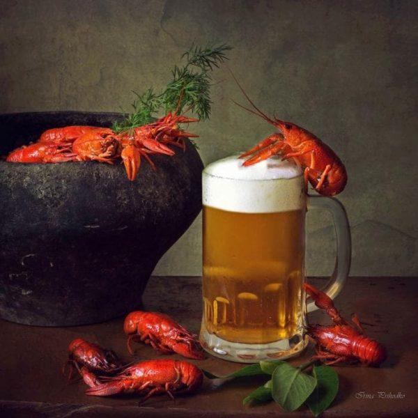 пиво с раками и пиво с рыбой фото – 41