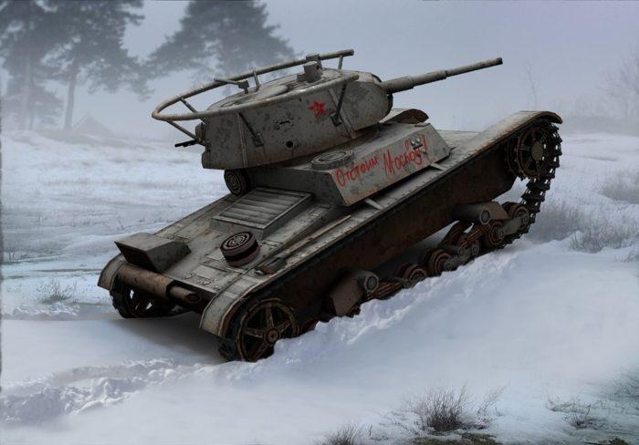 лёгкий танк Т-26 - 01