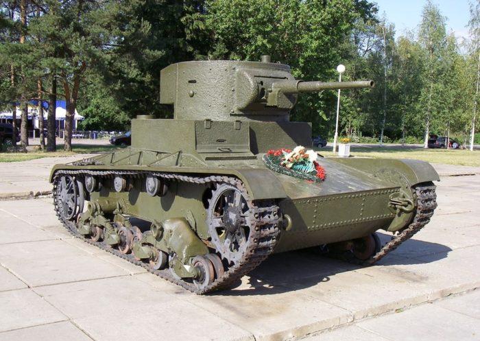 лёгкий танк Т-26 - 02