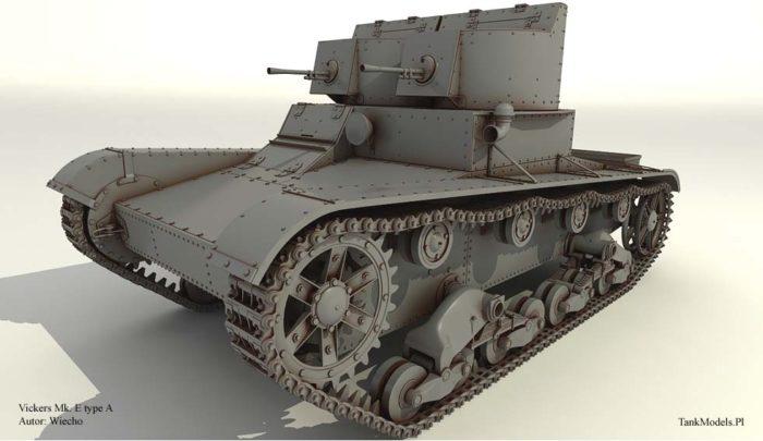 лёгкий танк Т-26 - 03