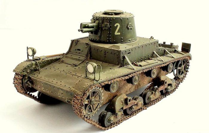 лёгкий танк Т-26 - 04