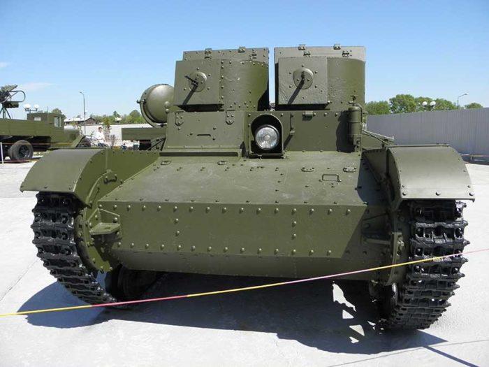 лёгкий танк Т-26 - 05