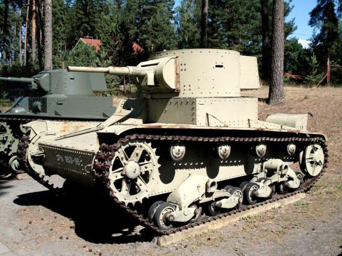 лёгкий танк Т-26 - 06