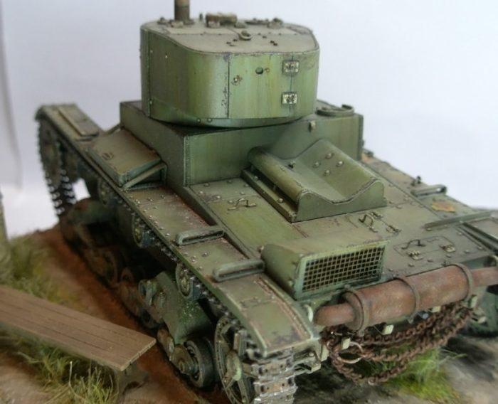 лёгкий танк Т-26 - 07
