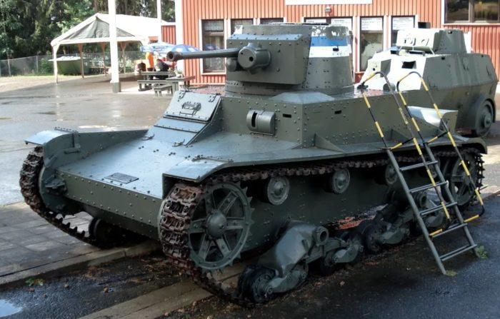 лёгкий танк Т-26 - 08
