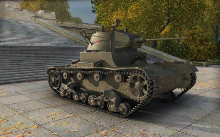 лёгкий танк Т-26 - 11