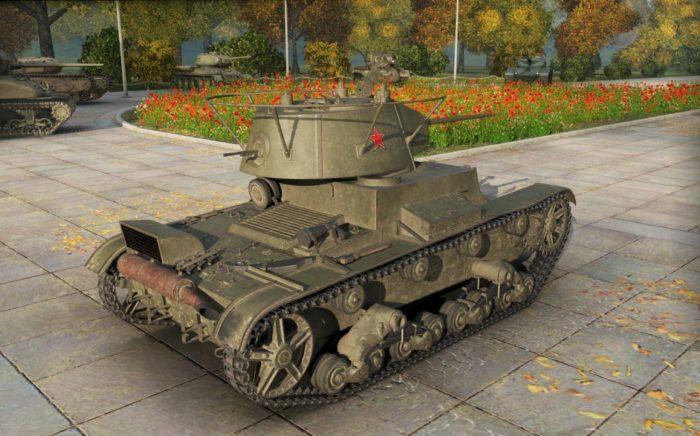 лёгкий танк Т-26 - 12