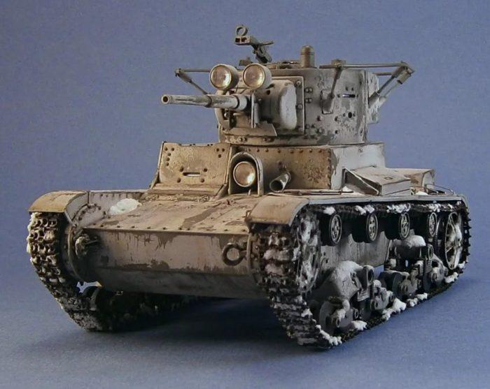 лёгкий танк Т-26 - 13