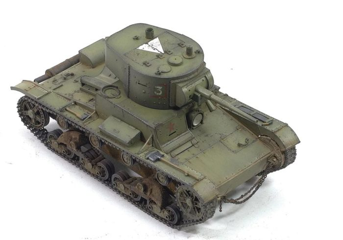 лёгкий танк Т-26 - 16