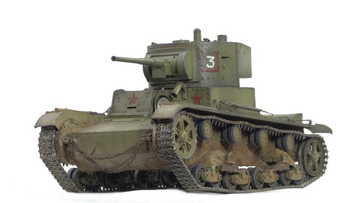 лёгкий танк Т-26 - 19