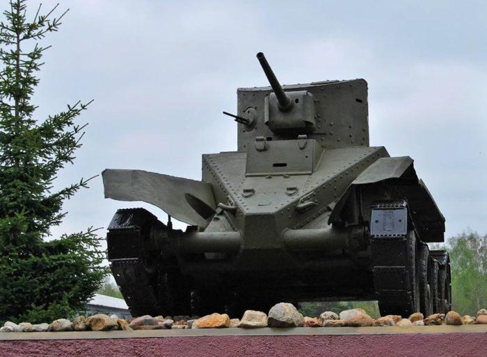 танк БТ-2 - 01