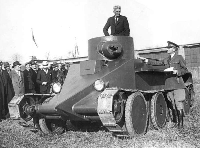 танк БТ-2 - 03
