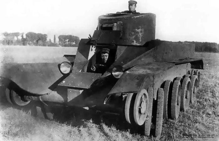 танк БТ-2 - 04