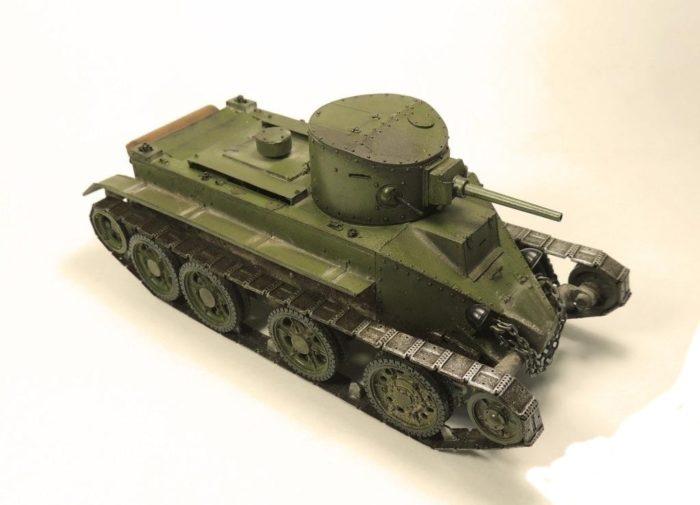 танк БТ-2 - 08