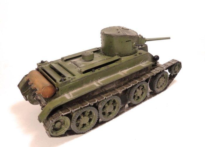 танк БТ-2 - 09