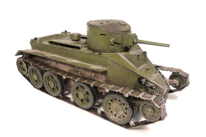 танк БТ-2 - 10
