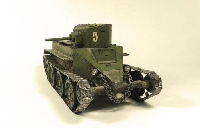 танк БТ-2 - 11
