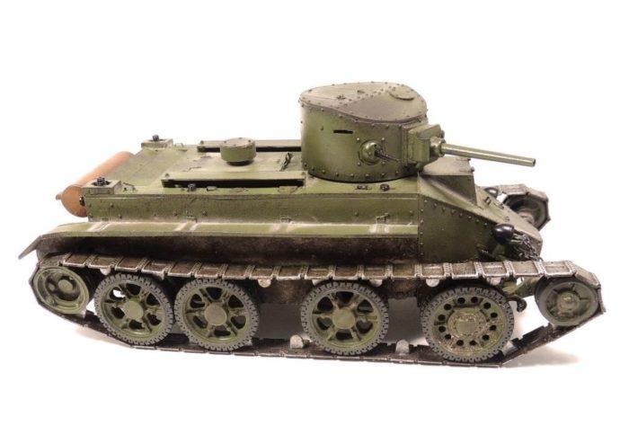 танк БТ-2 - 12