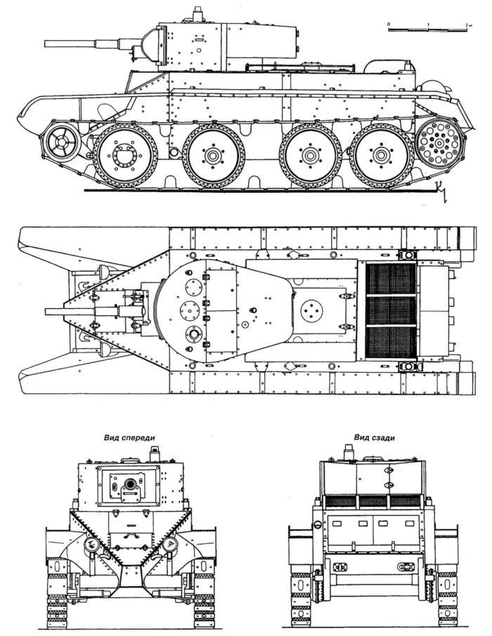 танк БТ-5 - 02