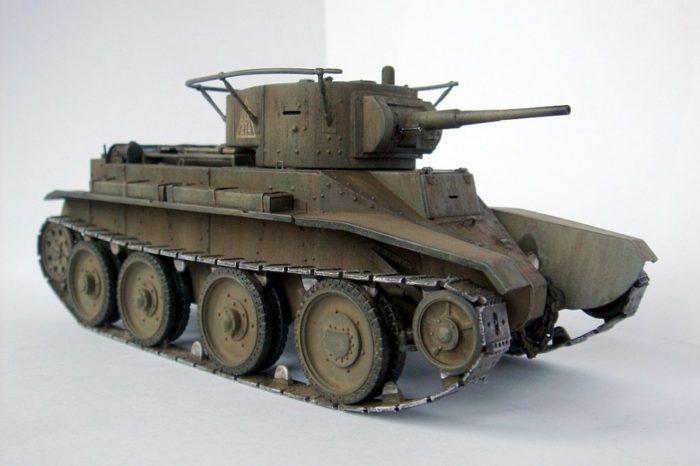 танк БТ-5 - 03