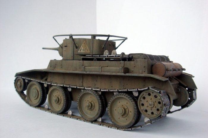 танк БТ-5 - 04