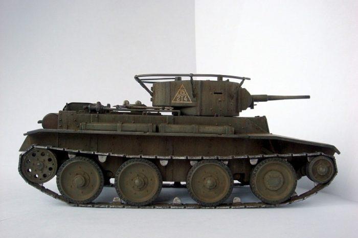 танк БТ-5 - 05