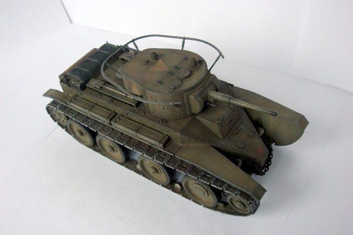 танк БТ-5 - 06