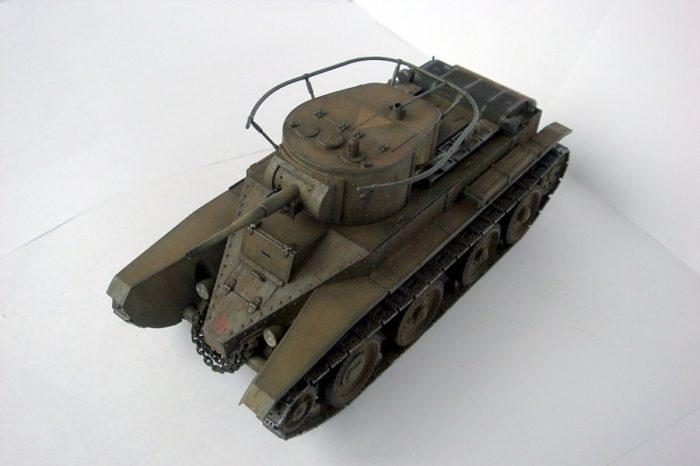 танк БТ-5 - 07