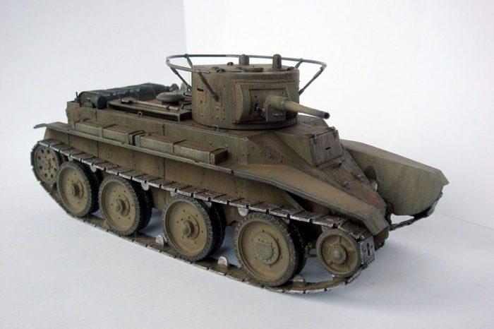 танк БТ-5 - 08