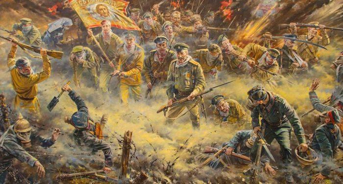 крепость Осовец, Атака мертвецов - 01