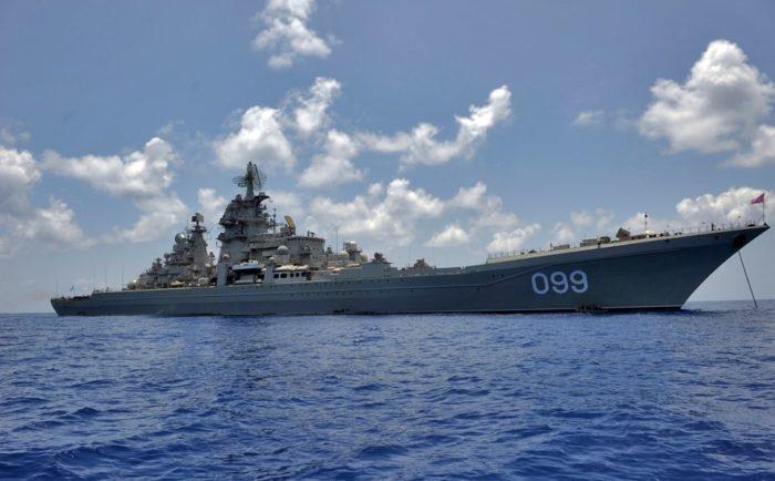 крейсер Пётр Великий. Модернизация корабля - 01