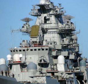 крейсер Пётр Великий. Модернизация корабля - 02