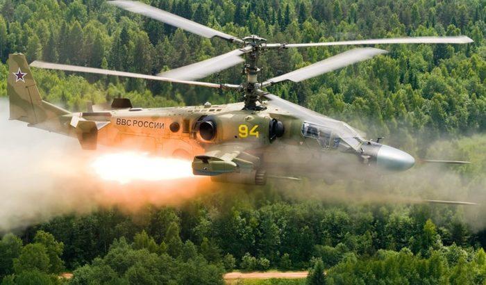Итоги боевого применения в Сирии ударного вертолёта Ка-52