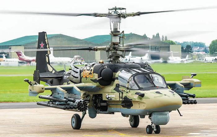 ударный вертолёт Ка-52 – 02