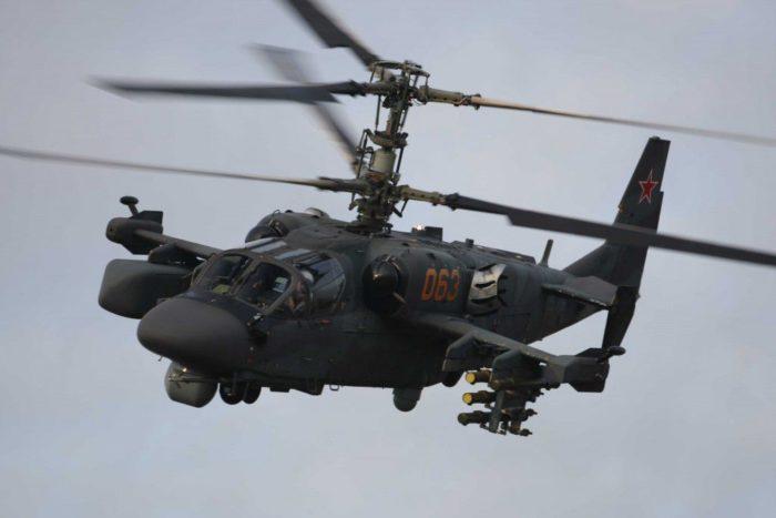 ударный вертолёт Ка-52 – 03