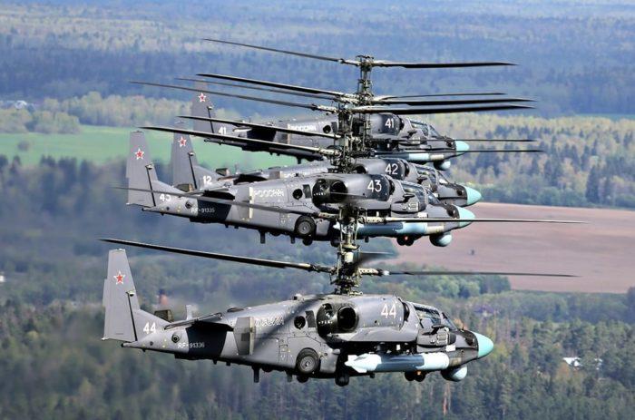 ударный вертолёт Ка-52 – 04