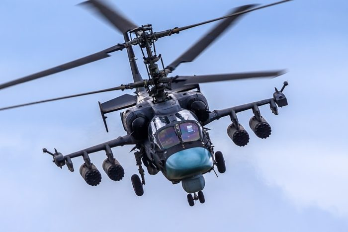 ударный вертолёт Ка-52 – 07