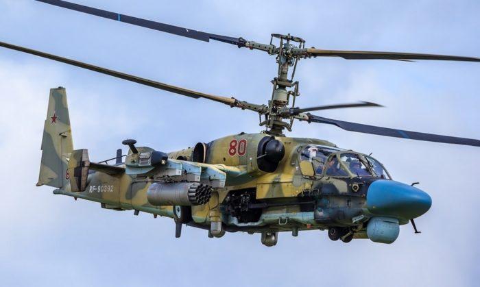 ударный вертолёт Ка-52 – 09