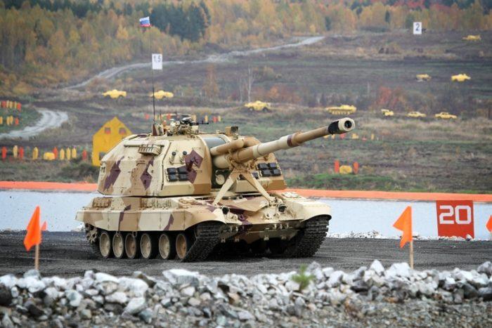 российская Мста – американская M109A7 - 02