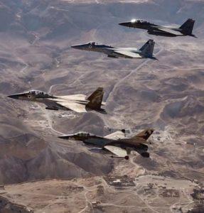 авиации ВВС Израиля нанесла удар по Сирии