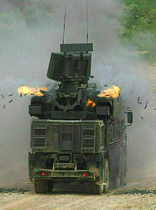 в Сирии уничтожен Панцирь С-1