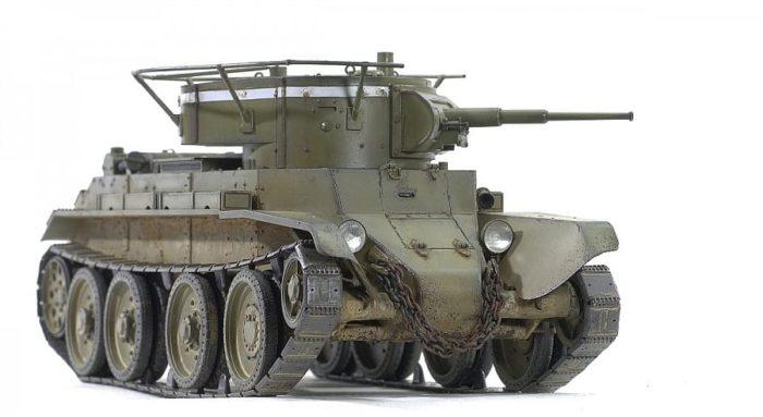 советский танк БТ-7 - 02