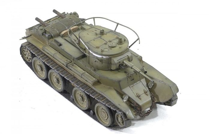 советский танк БТ-7 - 03