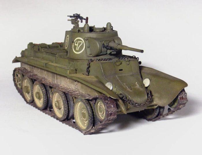 советский танк БТ-7 - 04