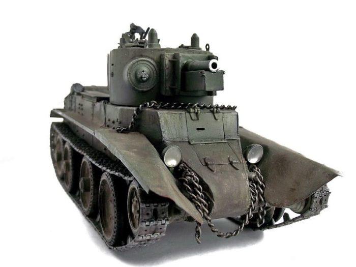 советский танк БТ-7 - 05