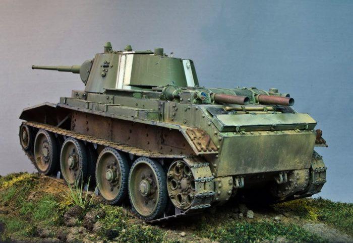 советский танк БТ-7 - 06