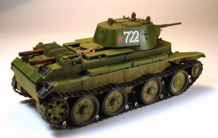 советский танк БТ-7 - 07