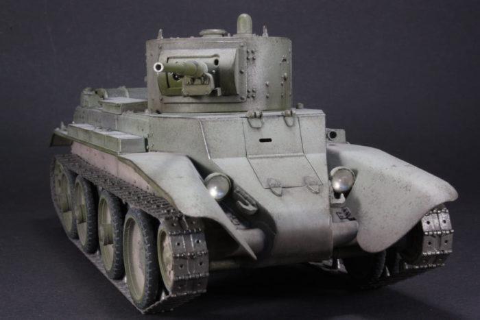 советский танк БТ-7 - 08