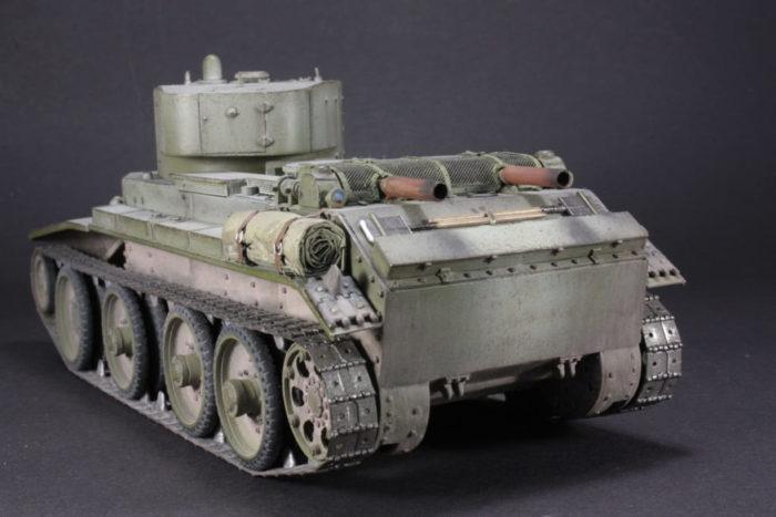 советский танк БТ-7 - 09