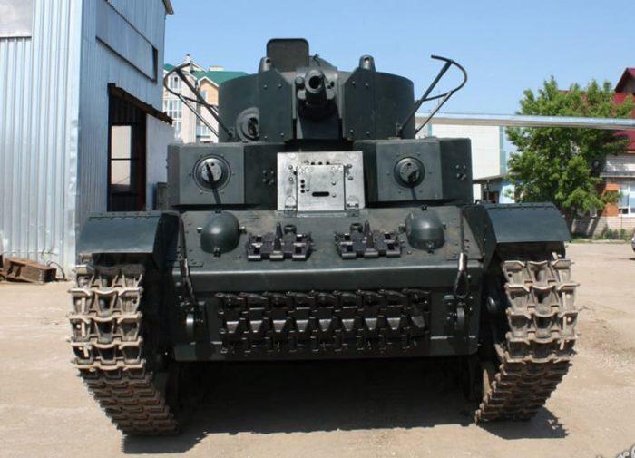 танк Т-28, ТТХ, история создания и фото - 01